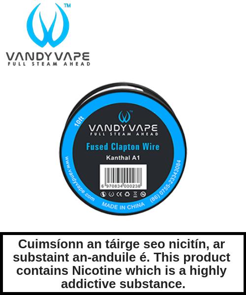 Vandy Vape - SS316L Fused Clapton