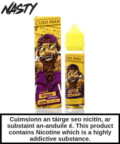 Cush Man - Mango Grape
