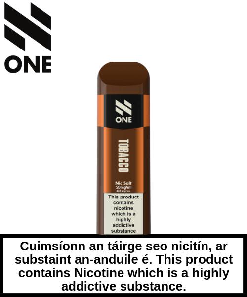 Tobacco - Disposable Pod Single