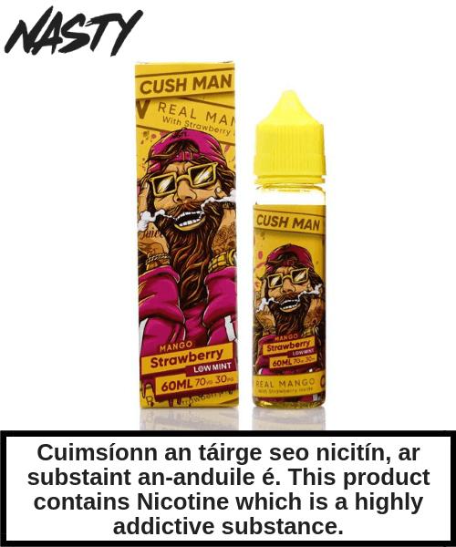 Cush Man - Mango Strawberry