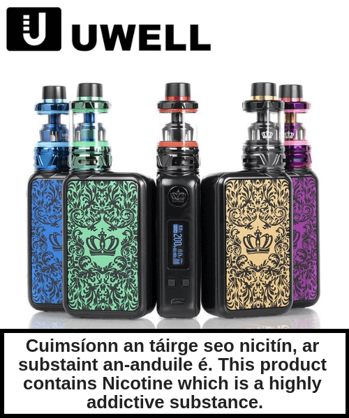 Uwell Crown 4 Sub-Ohm Kit