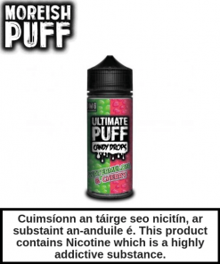 Ultimate Puff Candy Drops - Watermelon & Cherry