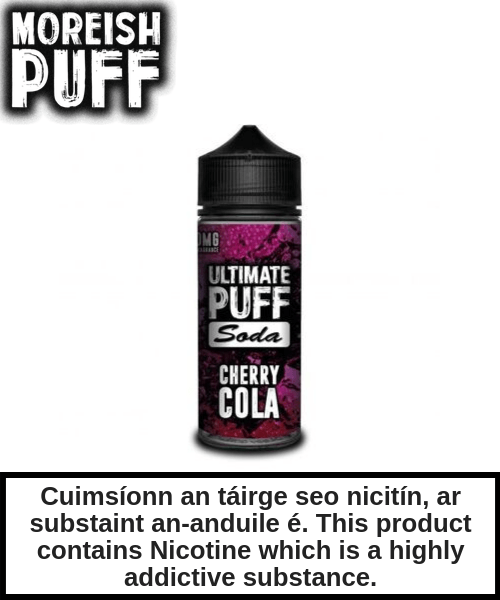Ultimate Puff Soda - Cherry Cola