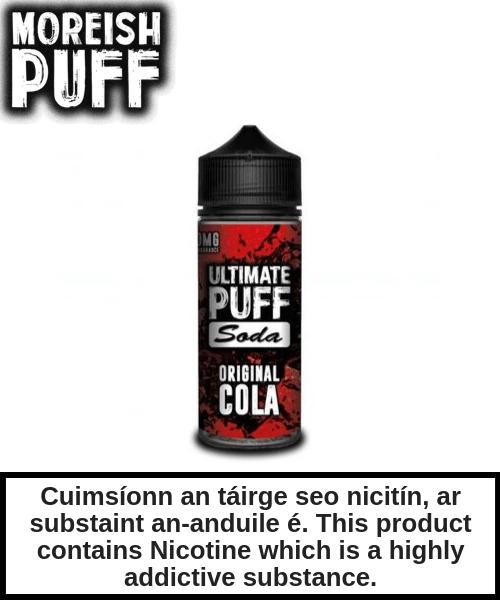 Ultimate Puff Soda - Original Cola